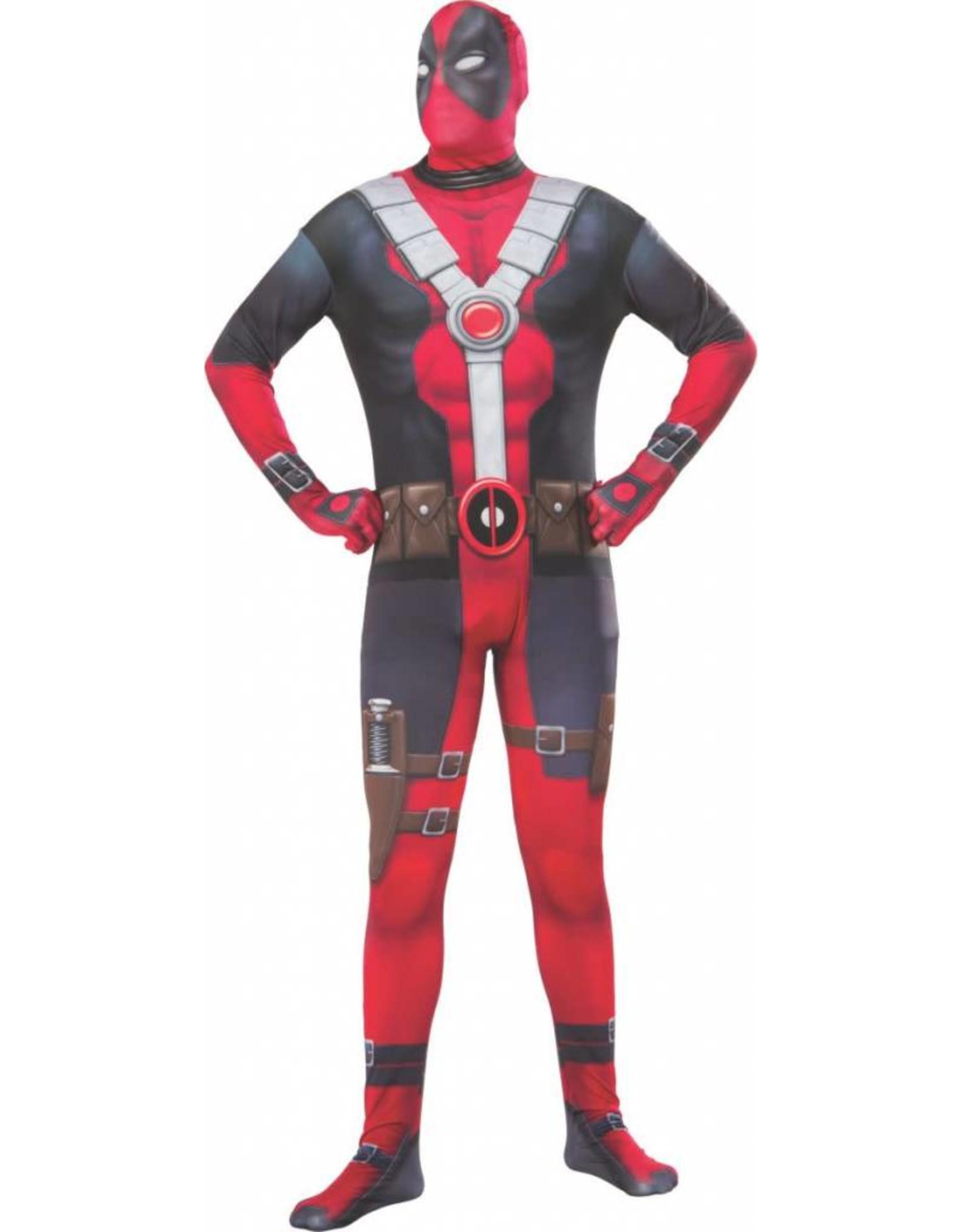 Rubies Costume Deadpool  2nd Skin Jumpsuit