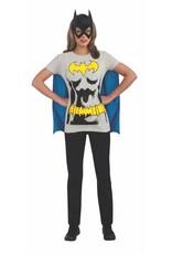 Rubies Costume Batgirl T-Shirt w/Cape & Mask