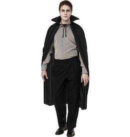 Rubies Costume Long Black Cape