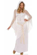 Rubies Costume White Priestess Dress