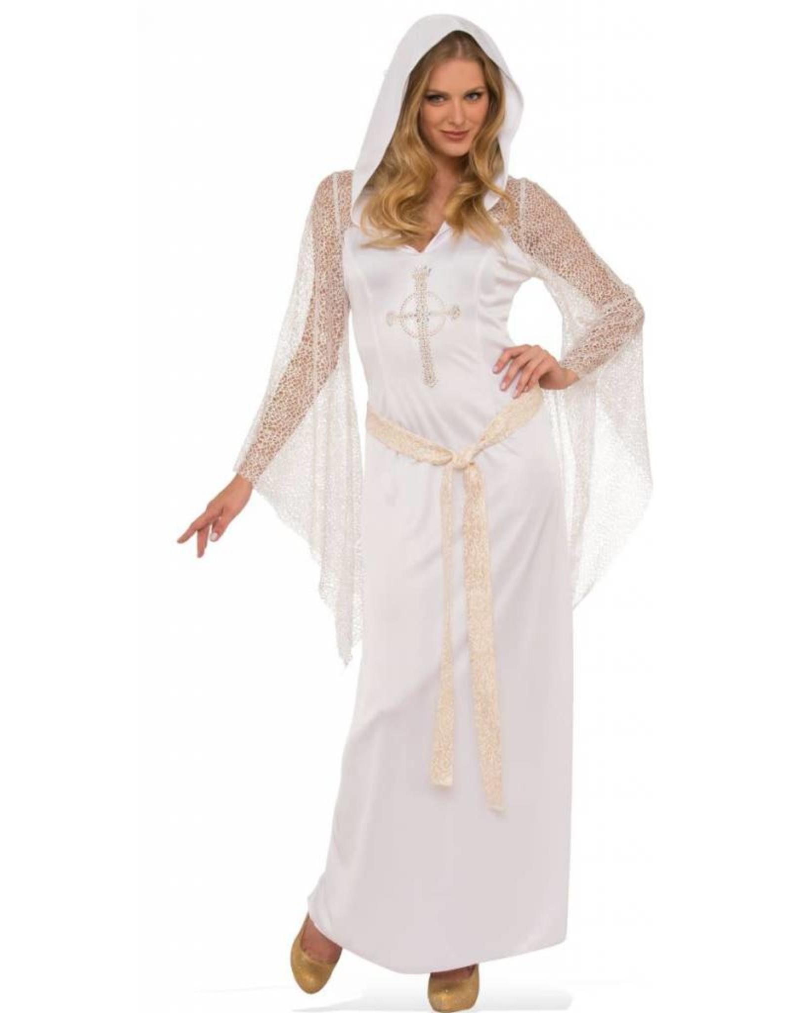 Rubies Costume White Priestess Dress