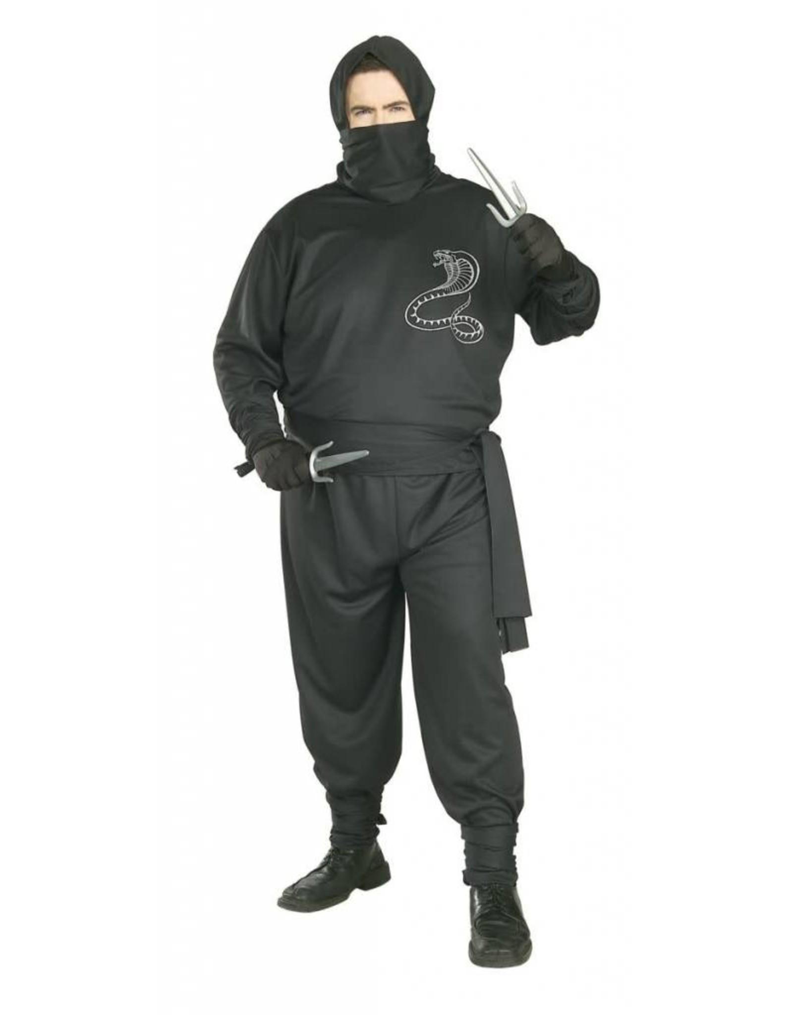 Rubies Costume Ninja Plus Size