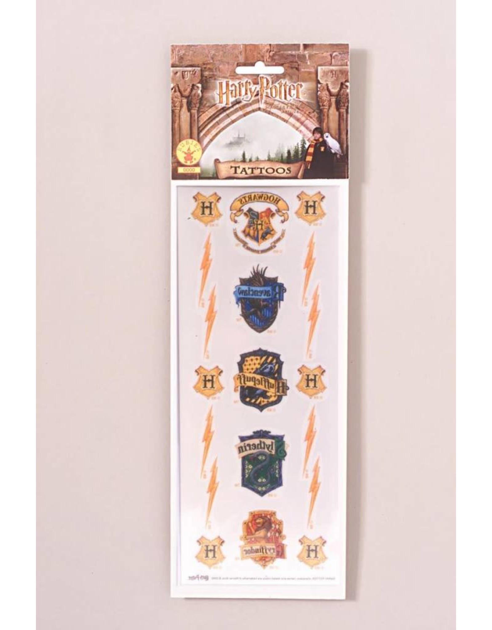 Rubies Costume Harry Potter Movie Tattoos