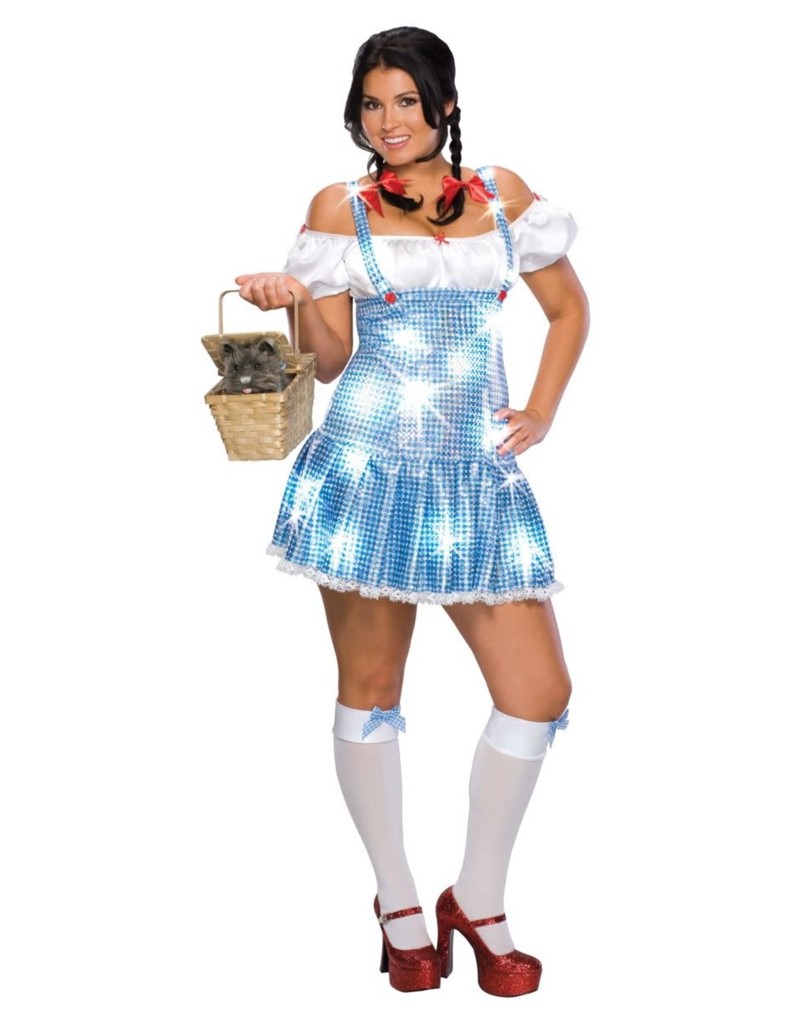 Secret Wishes Dorothy Plus Size Sequin Dress