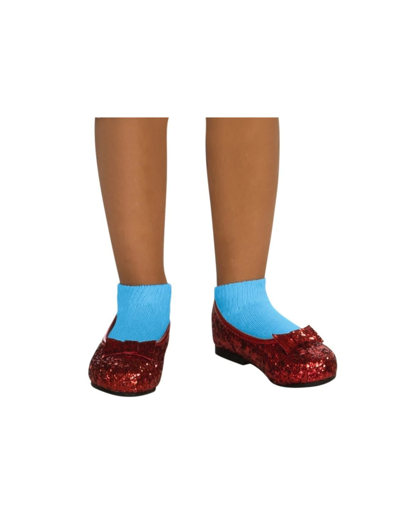 Rubies Costume Deluxe Sequin Kids Dorothy Shoes