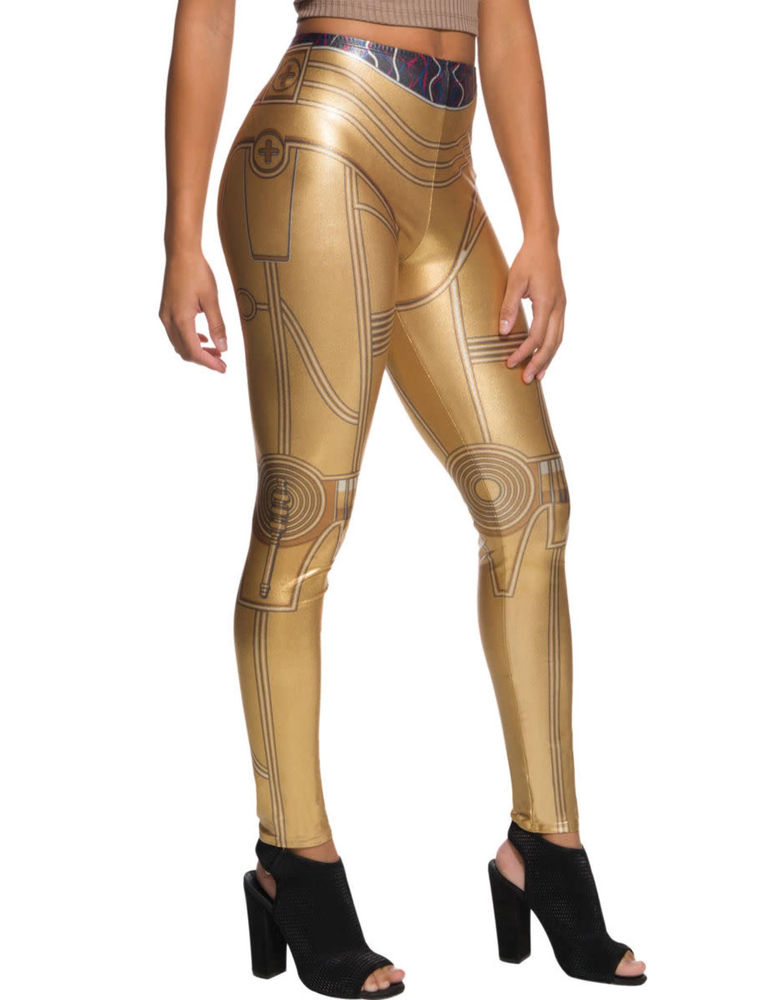 Rubies Costume C-3PO leggings