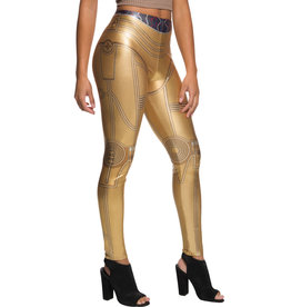 Rubies Costume C-3PO leggings