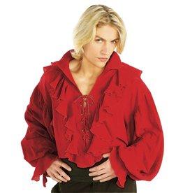 Rubies Costume Red Gauze Pirate Shirt