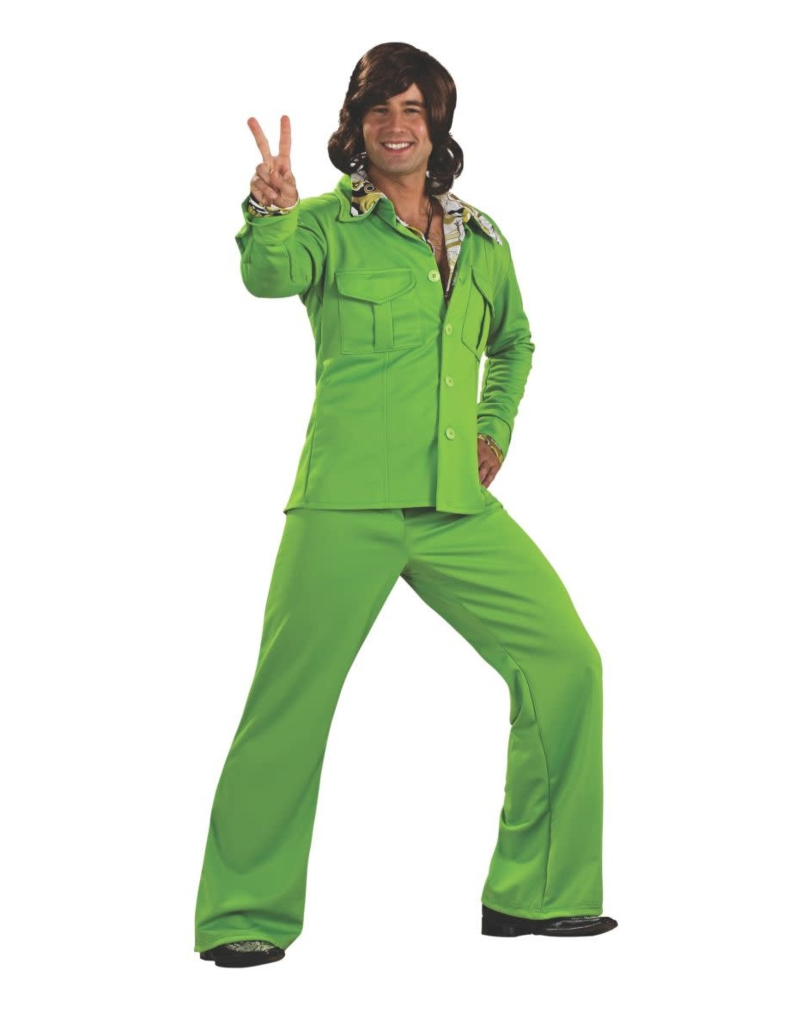 Rubies Costume Green Leisure Suit