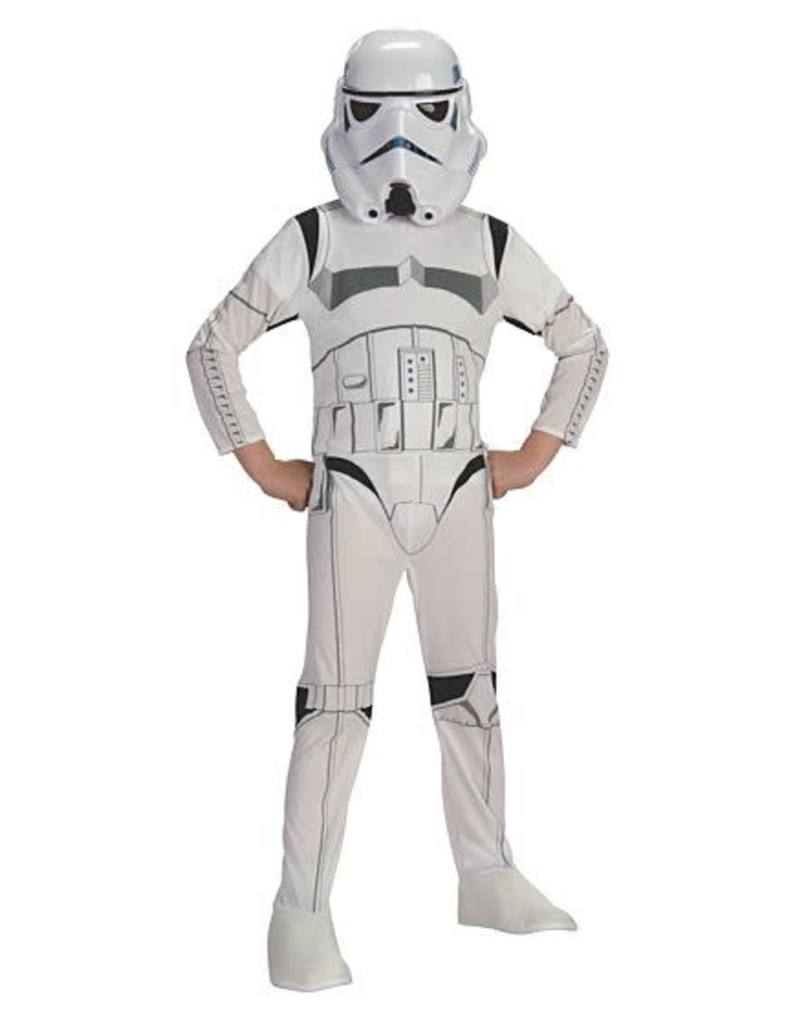 Rubies Costume Children's Classic Stormtrooper Jumpsuit and Mask