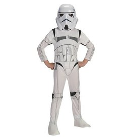 Rubies Costume Children's Stormtrooper Jumpsuit and Mask
