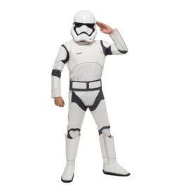 Rubies Costume Children's Deluxe Stormtrooper - The Force Awakens