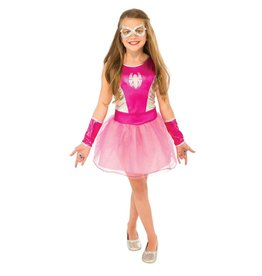 Rubies Costume Children's Pink Tutu Spider-Girl Dress