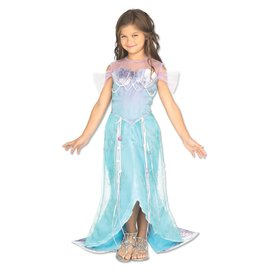 Rubies Costume Children's Deluxe Mermaid Princess Dress
