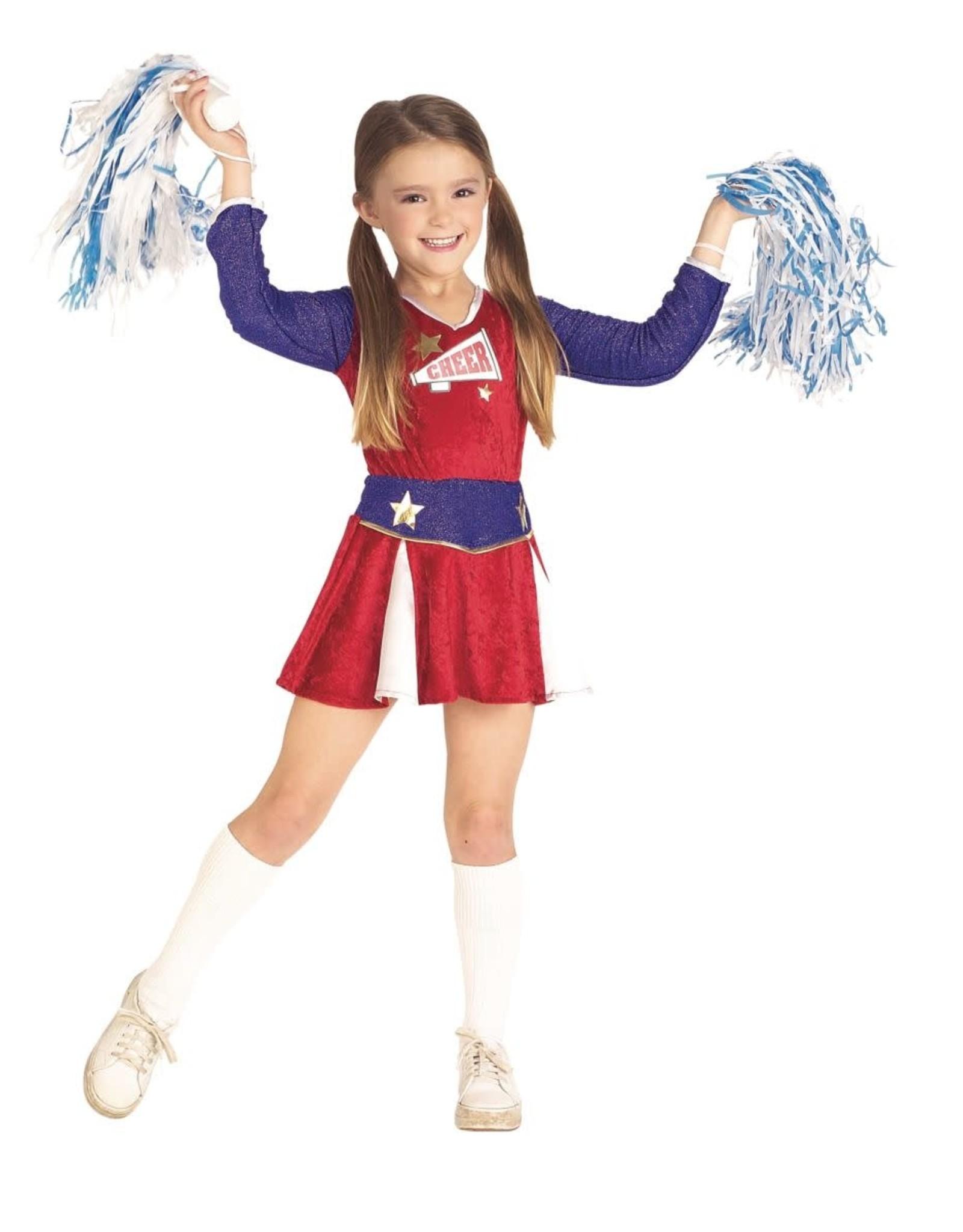 Rubies Costume Children's Cheerleader Dress