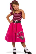 Rubies Costume Children's 50's Girl Dress