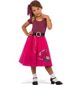Rubies Costume Children's 50's Girl Dress