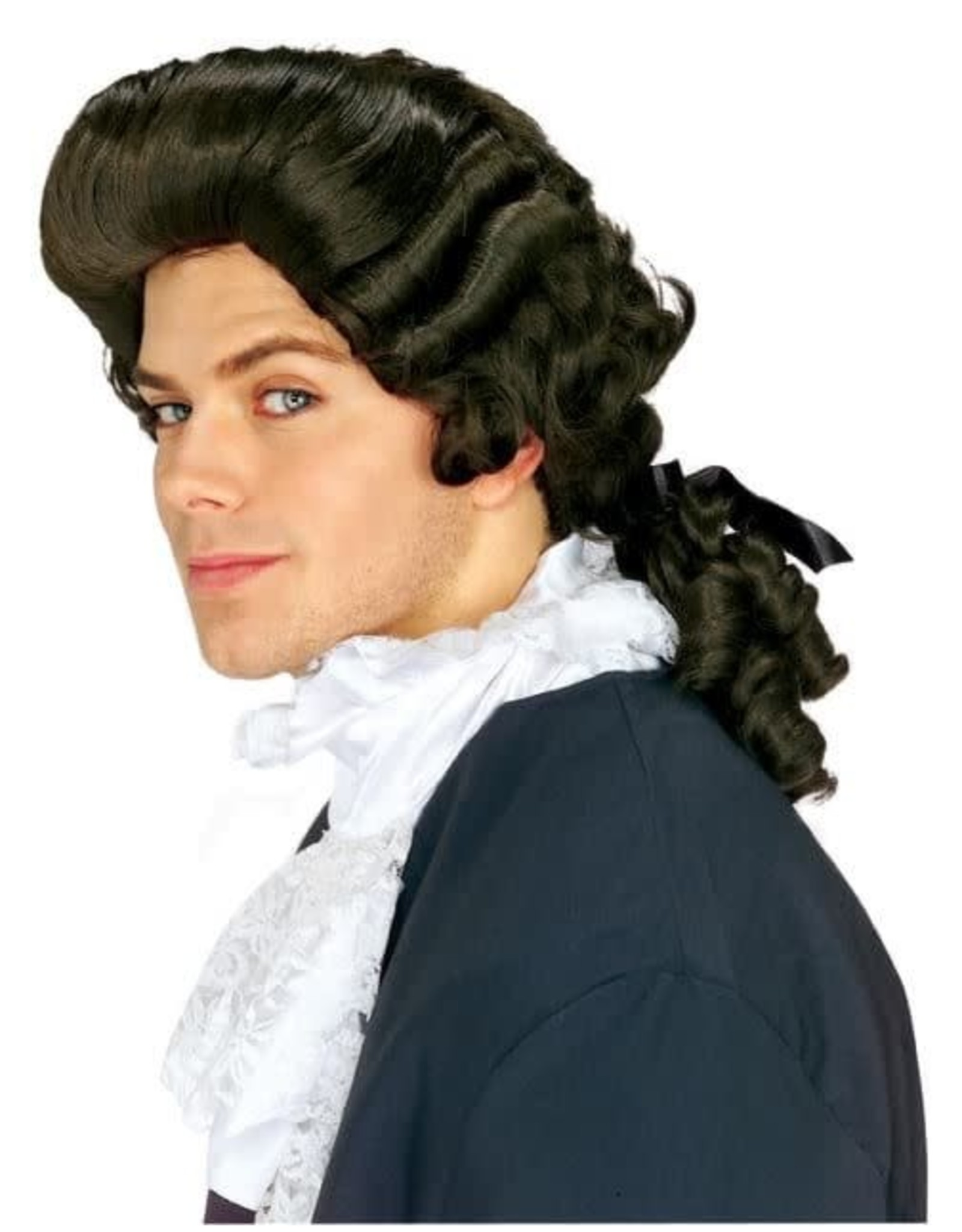 Rubies Costume Brown Colonial Man Wig