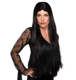 "Rubies Costume 28"" Long Black Witch Wig"