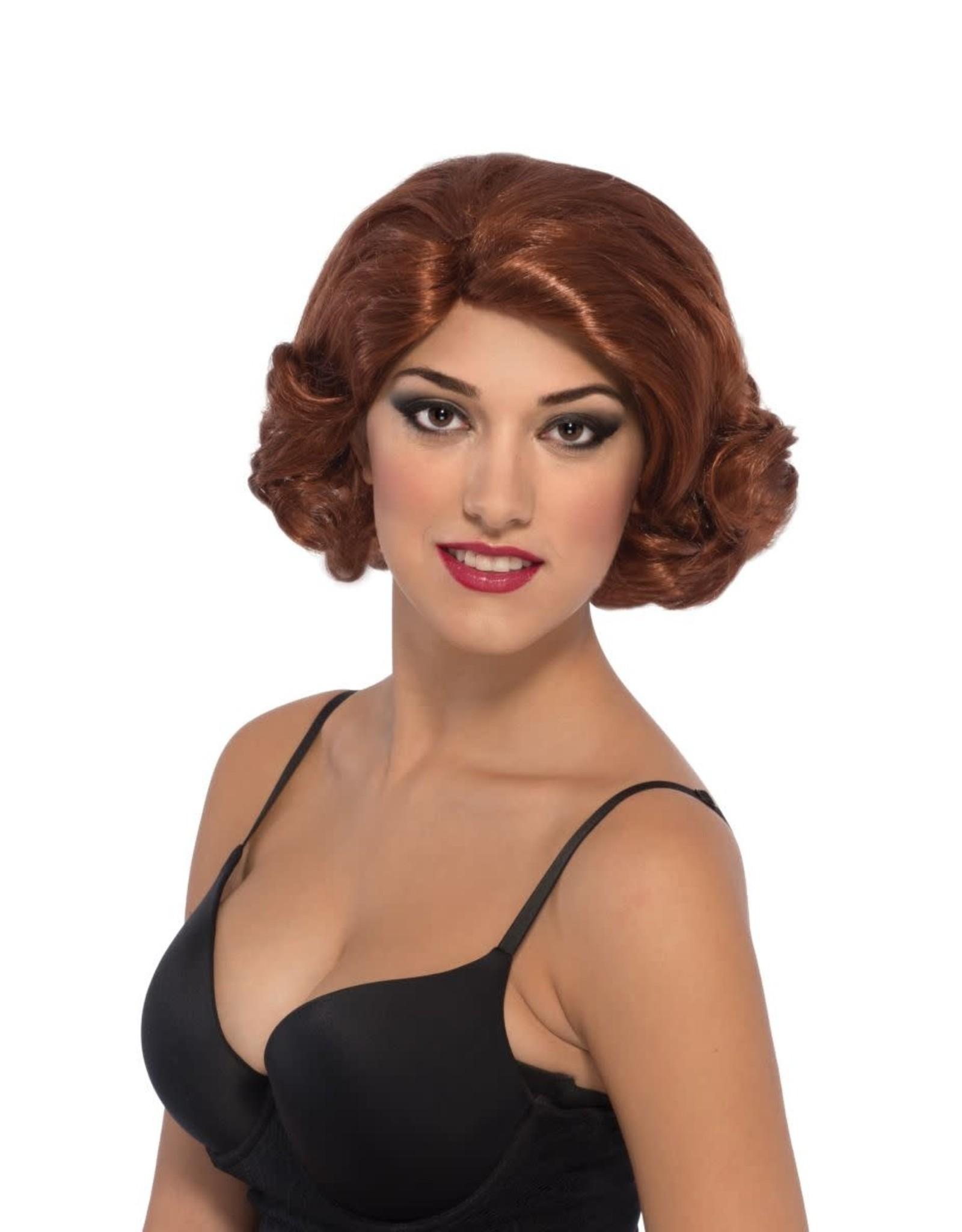 Secret Wishes Deluxe Black Widow Wig