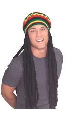 Rubies Costume Rasta Wig and Cap