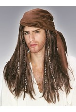 Rubies Costume Caribbean Pirate wig