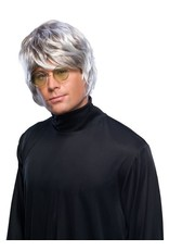 Rubies Costume Grey Pop Star Wig