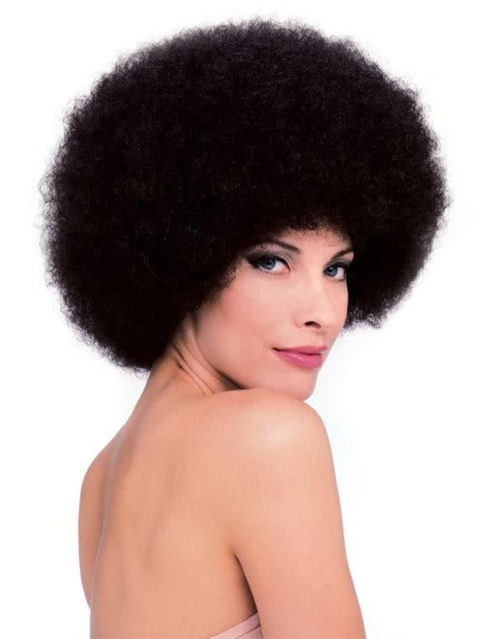 Rubies Costume Brown Afro Wig