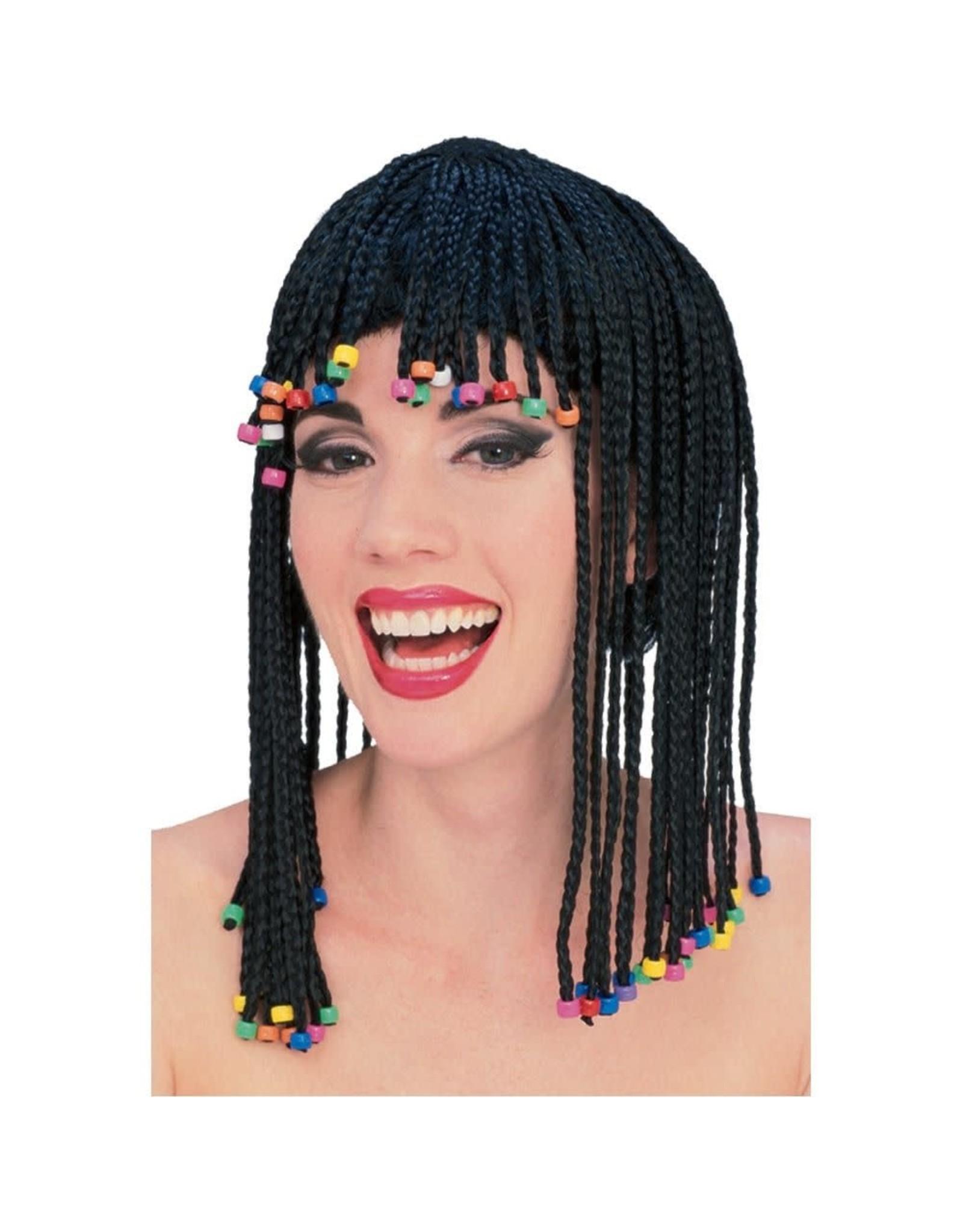 Rubies Costume Caribbean Cornrow Wig