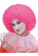 Rubies Costume Neon Pink Clown Wig