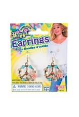 Forum Novelties Inc. Hippie Peace Sign Earrings