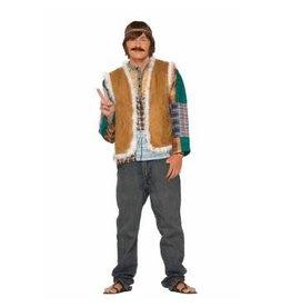 Forum Novelties Inc. Hippie Faux Fur Trimmed vest
