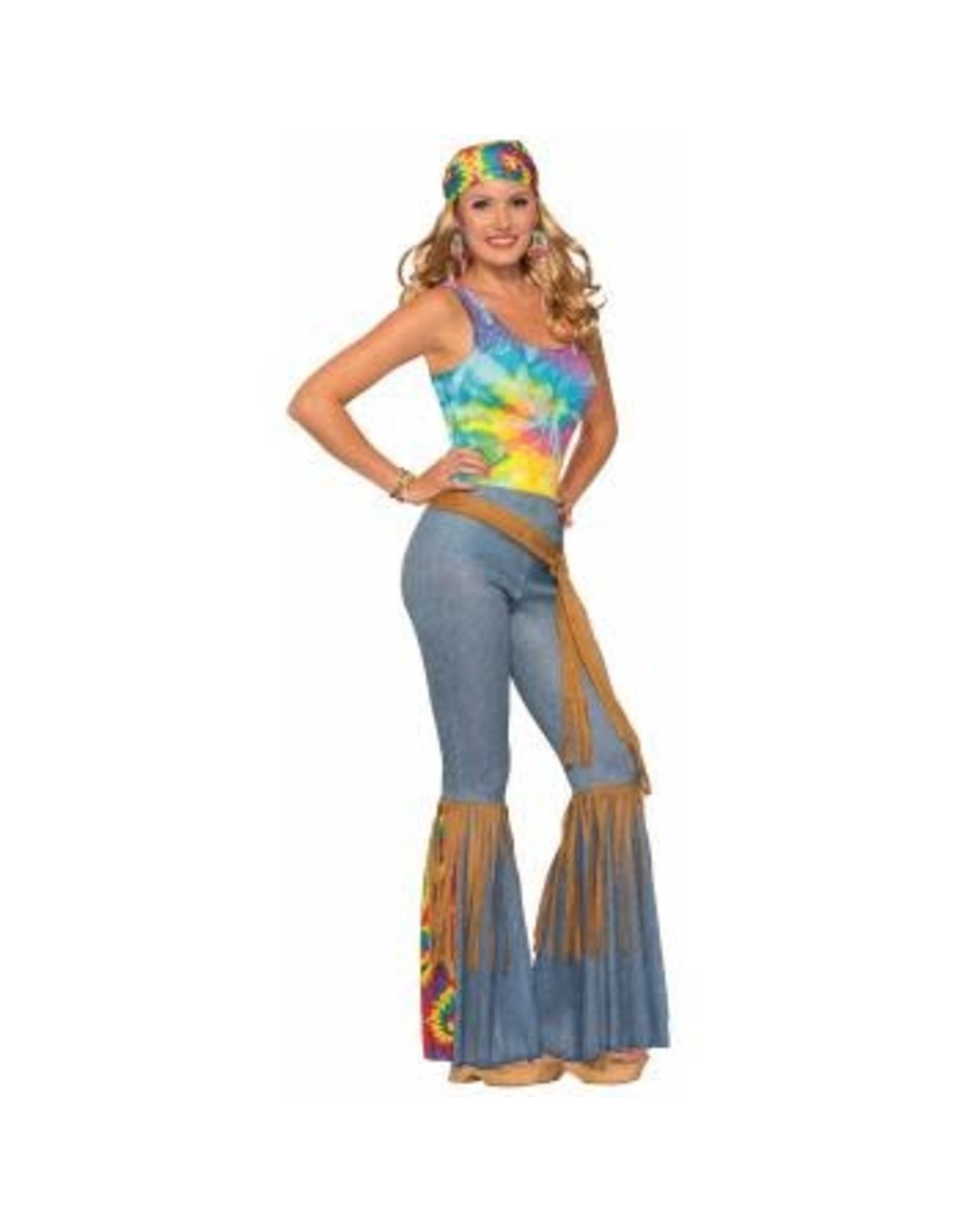 Forum Novelties Inc. Hippie Pants With Belt