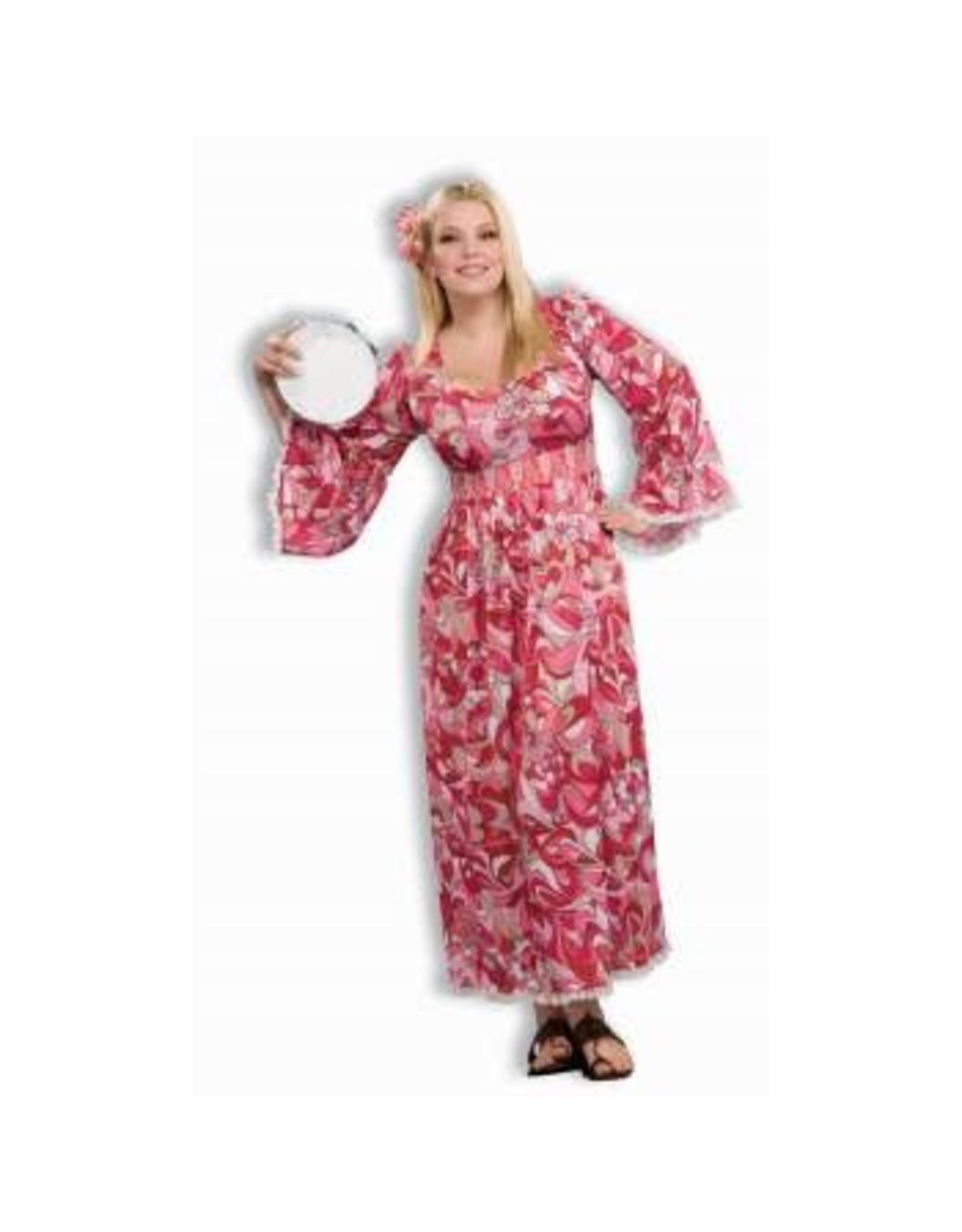 Forum Novelties Inc. Plus Size Flower Child Dress