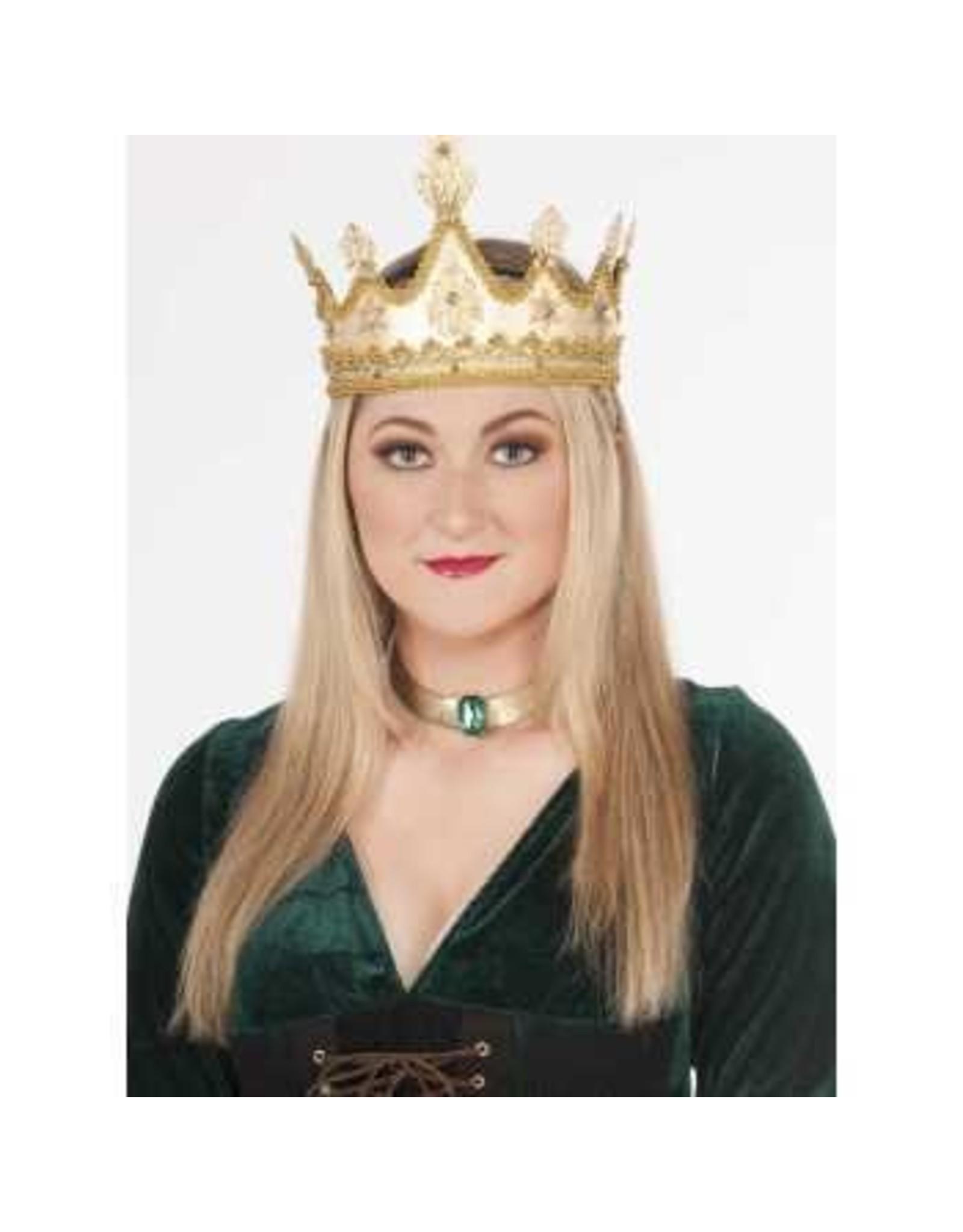 Forum Novelties Inc. Golden Queen Crown