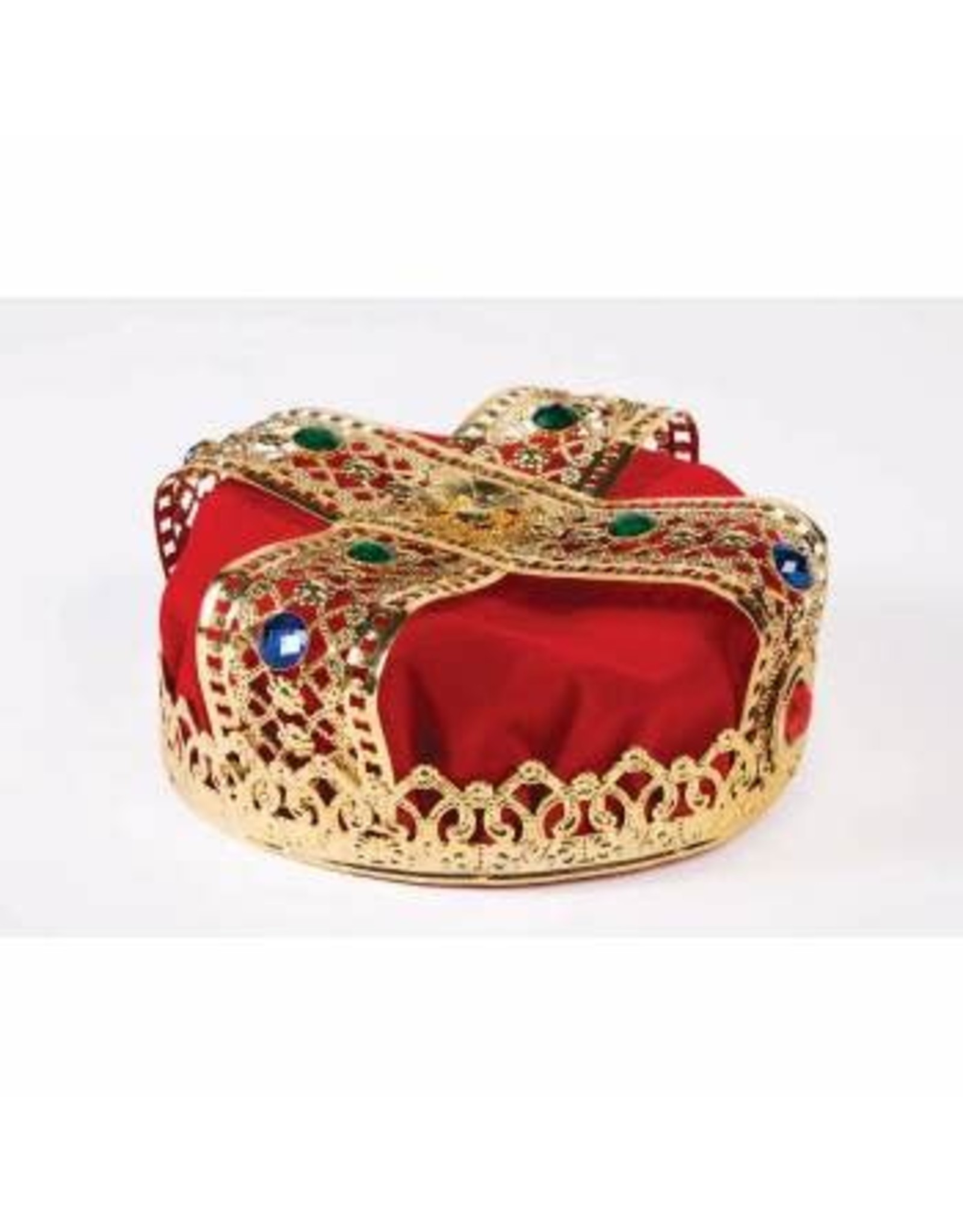 Forum Novelties Inc. Red Jeweled Crown