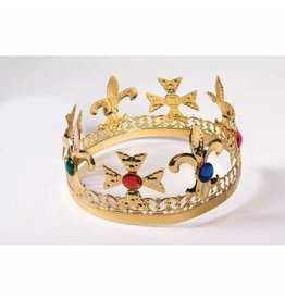 Forum Novelties Inc. Gold Jeweled Crown