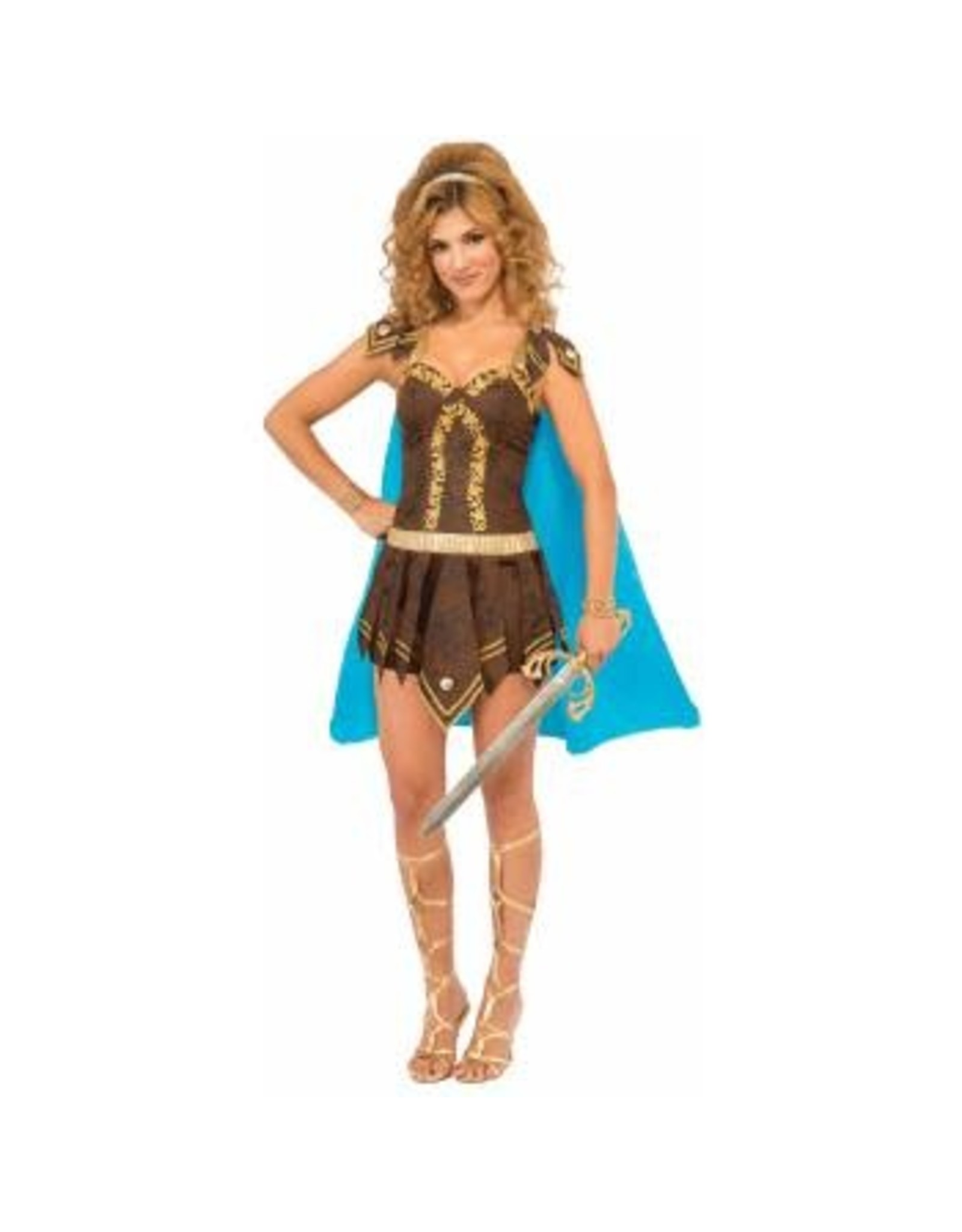 Forum Novelties Inc. Sexy Gladiator Dress w/Cape