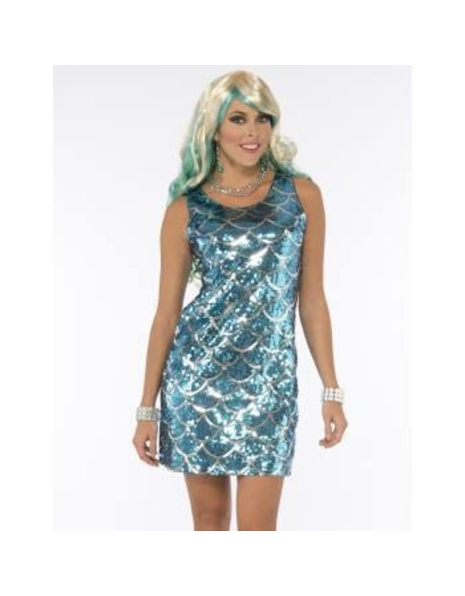 Forum Novelties Inc. Sequin Mermaid Dress