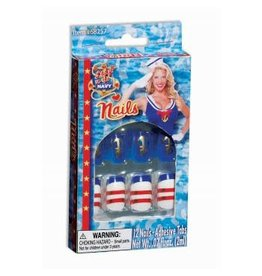 Forum Novelties Inc. Lady in the Navy Nails