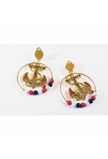 Forum Novelties Inc. Lady in the Navy Earrings