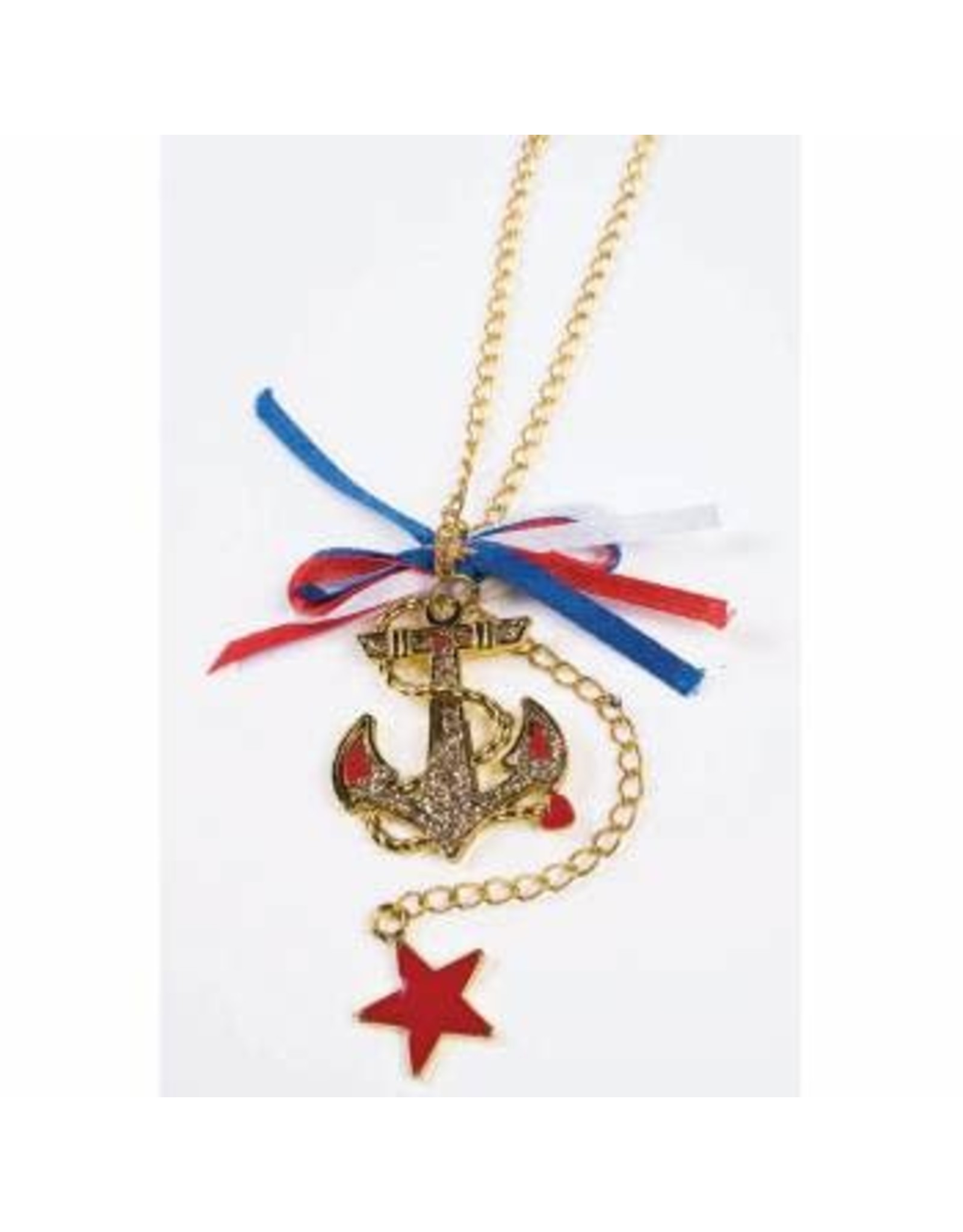 Forum Novelties Inc. Lady in the Navy Earrings and Necklace Set