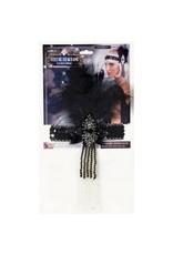 Forum Novelties Inc. Black Flapper Headband
