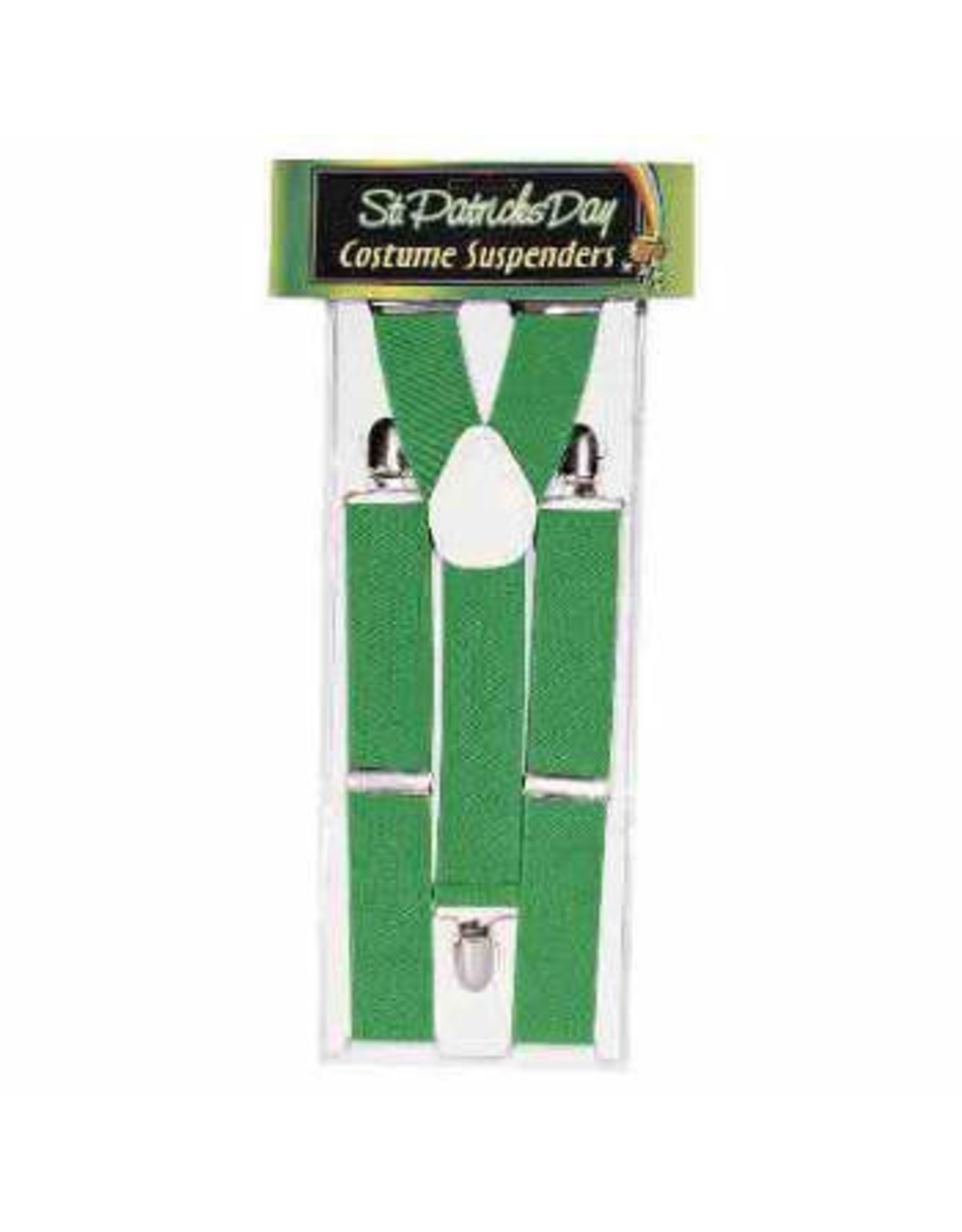 Forum Novelties Inc. Solid Color Suspenders