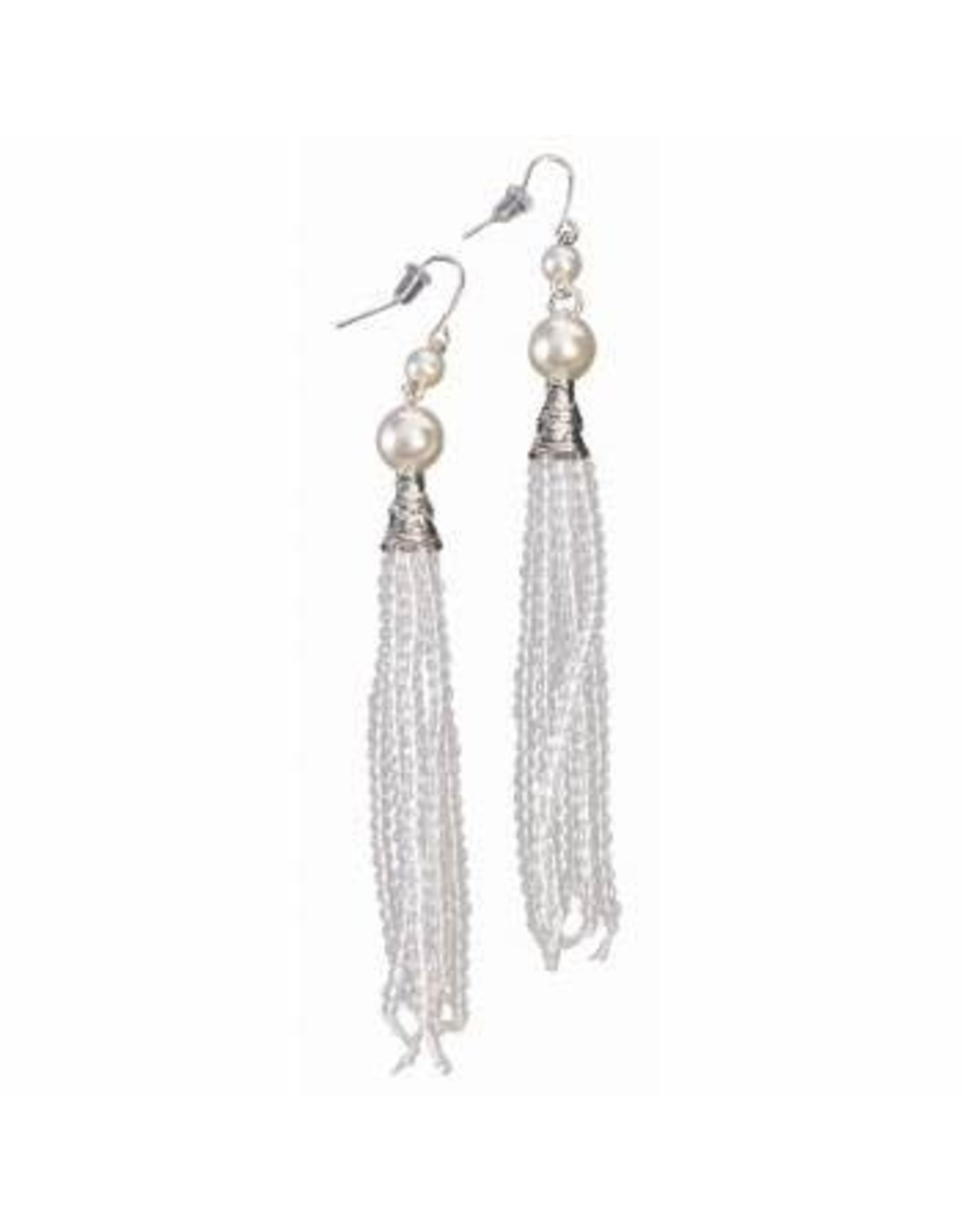 Forum Novelties Inc. Flapper Tassel Earrings