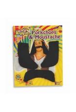 Forum Novelties Inc. Hippie Porkchops and Moustache