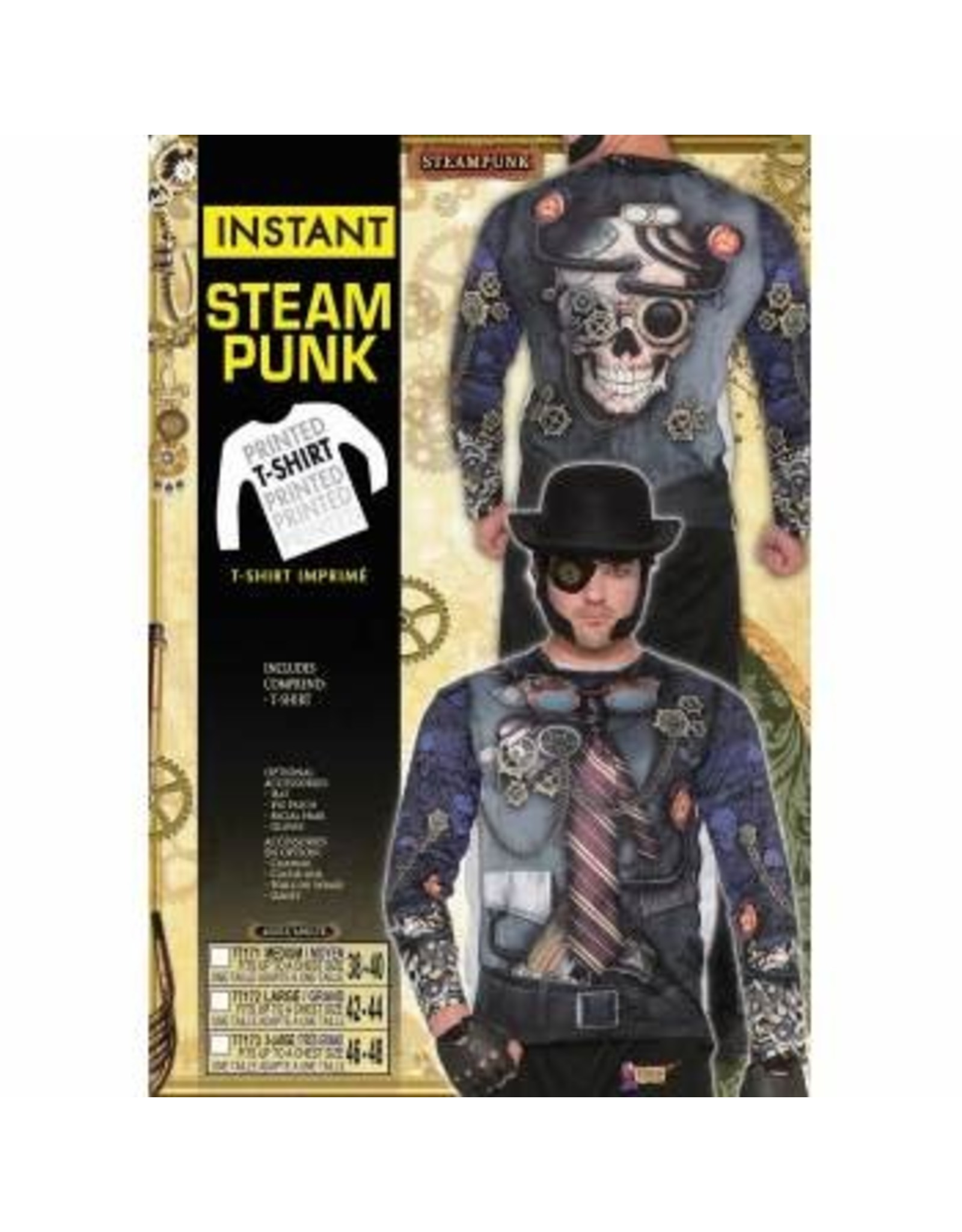 Forum Novelties Inc. Instant Steampunk Shirt