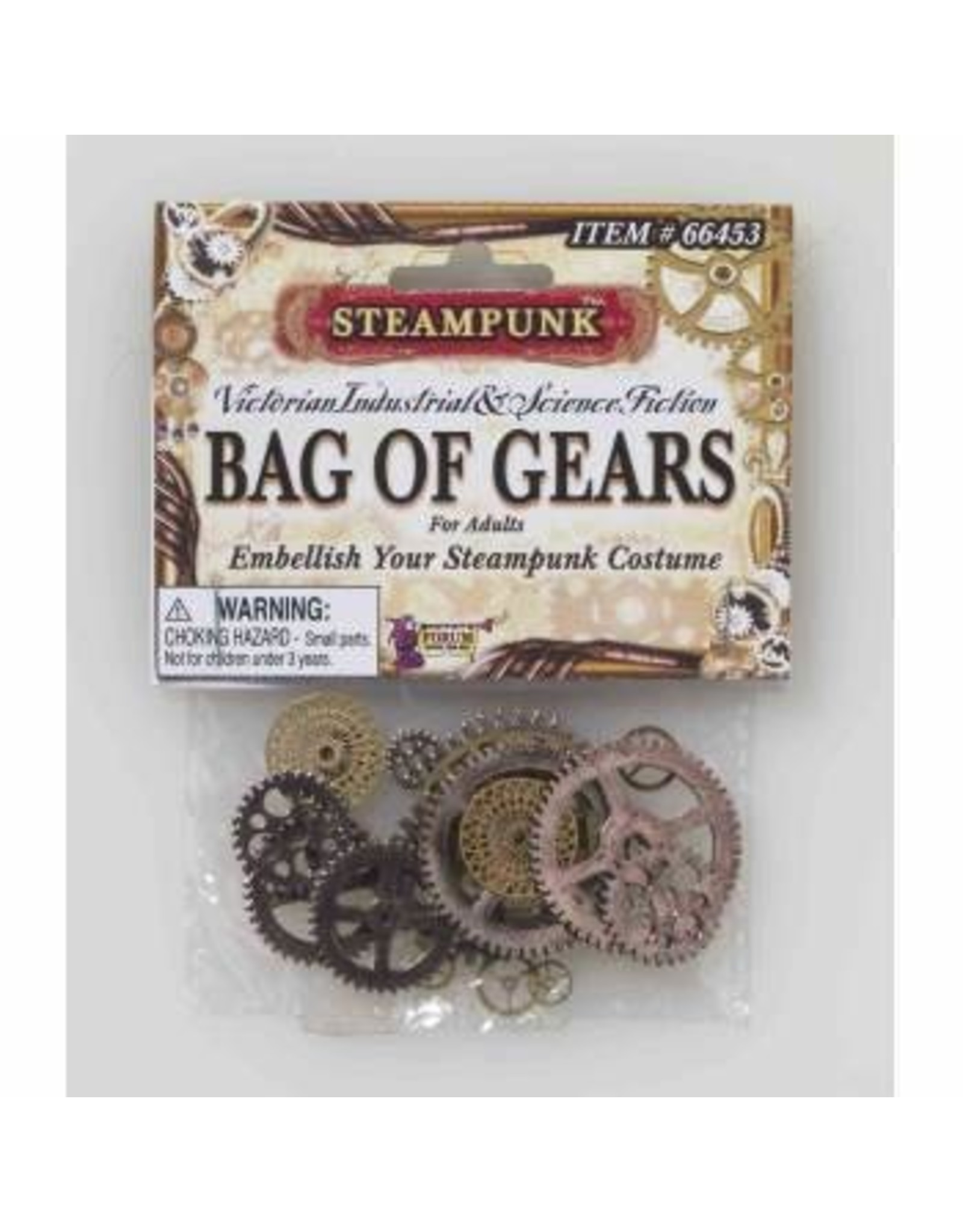 Forum Novelties Inc. Steampunk Bag of Gears