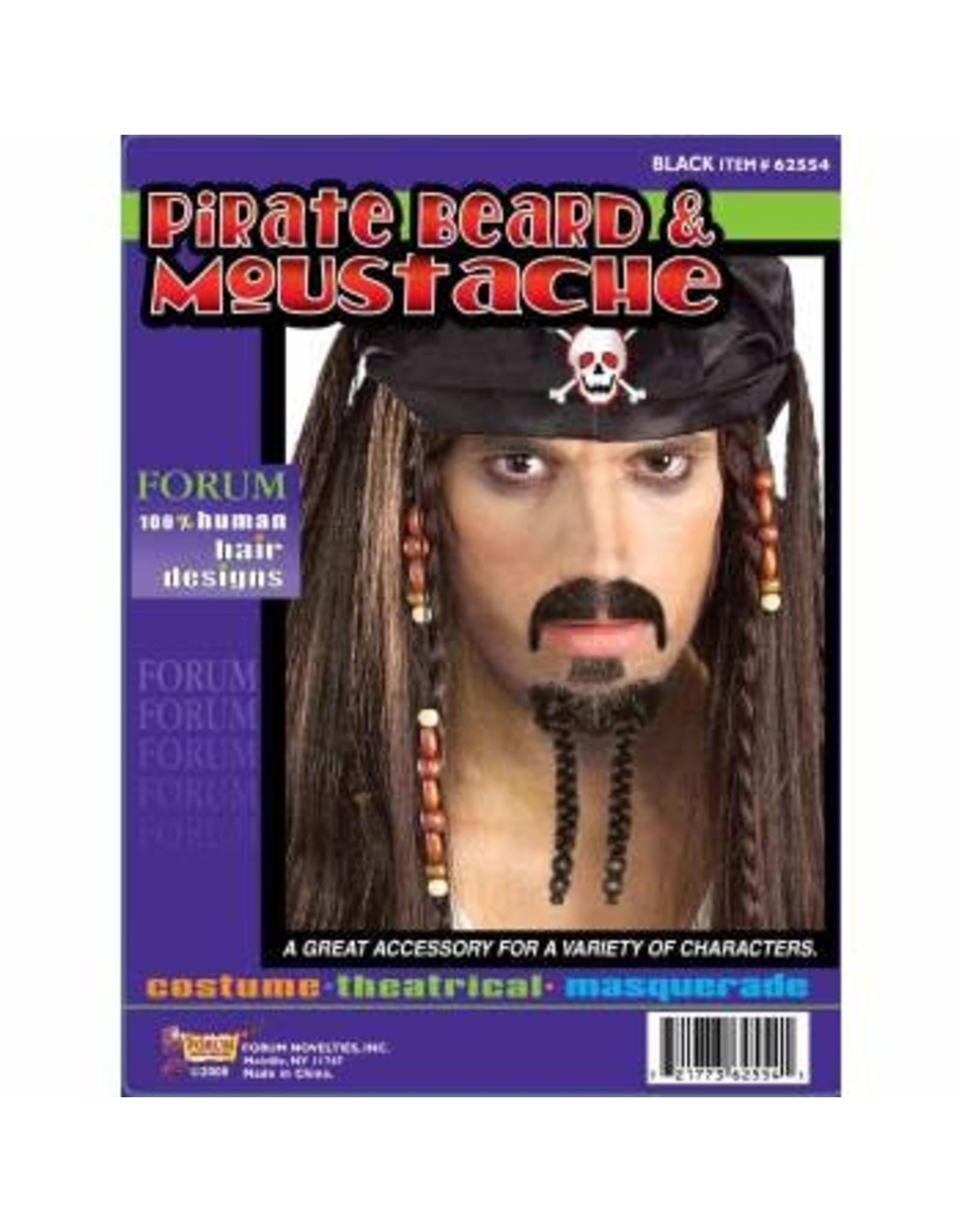 Forum Novelties Inc. Pirate Beard and Moustache