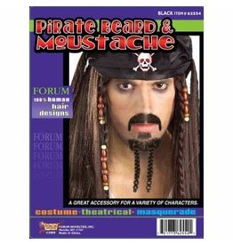 Forum Novelties Inc. Pirate Beard and Moustache